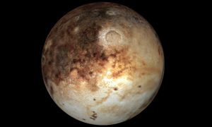 Just cos I'm small … Pluto, several billion miles from where you're sitting.